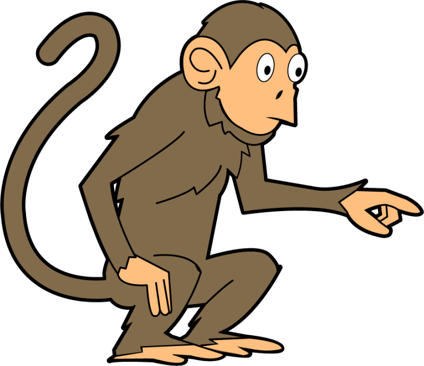 830x716 Spider Monkey Clipart Teacher