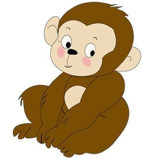 Monkey Clipart Free