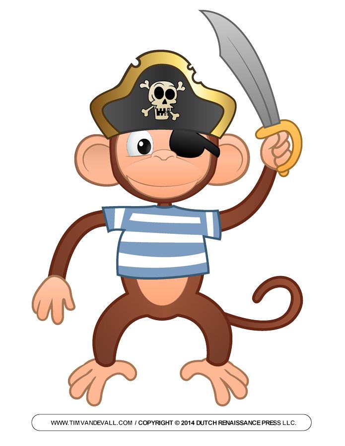 695x900 Cartoon Monkey Clipart