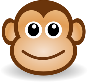 298x279 Displaying Hanging Monkey Clipart Clipartmonk