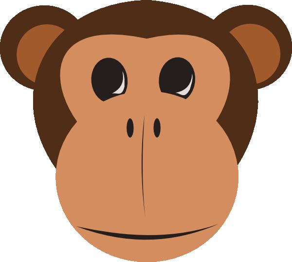 600x537 Free To Use Amp Public Domain Monkey Clip Art
