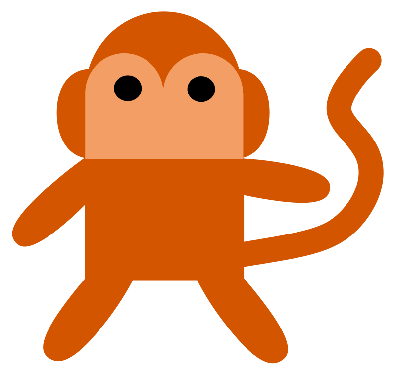 800x758 Monkey Clip Art Royalty Free Animal Images Animal Clipart Org