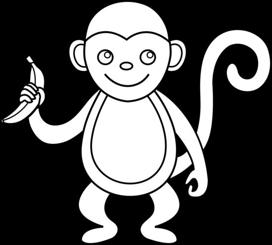 550x496 Monkey Clip Art Pictures Free Clipart Images