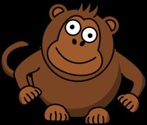 299x255 Monkey Clip Art