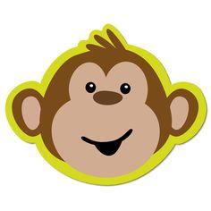 236x236 Monkey Face Clip Art