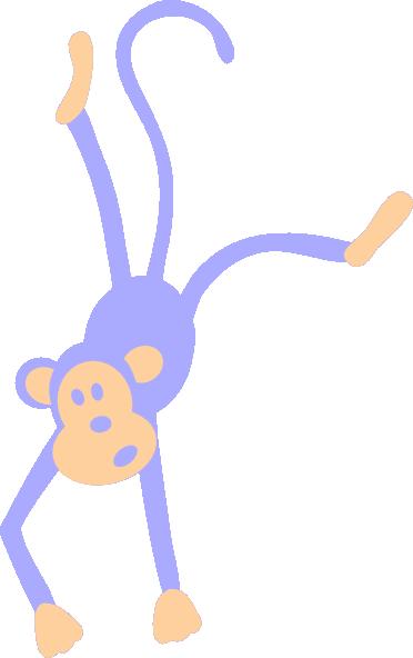 372x592 Purple Monkey Clip Art