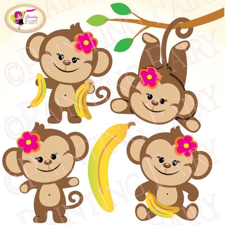 736x735 Carneval clipart monkey