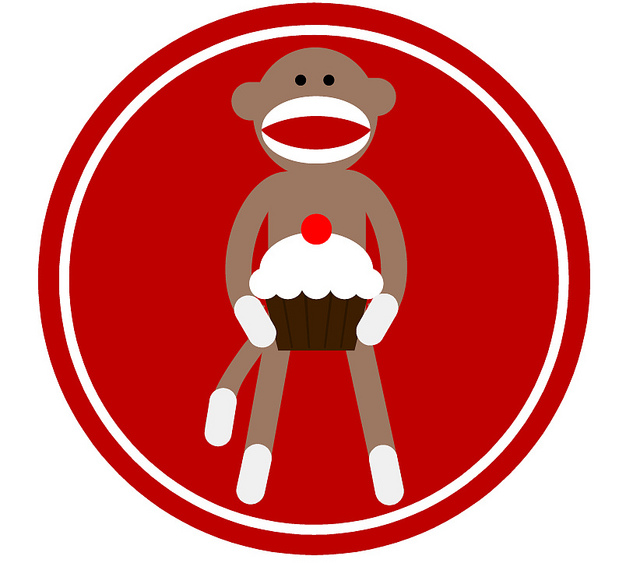 640x563 Sock Monkey Face Clip Art Clipart