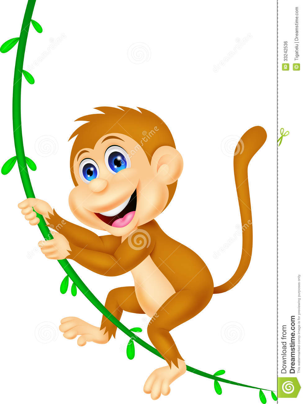 983x1300 Cartoon Monkey Clipart