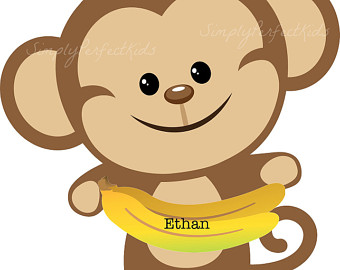 340x270 Cute Monkey Clipart