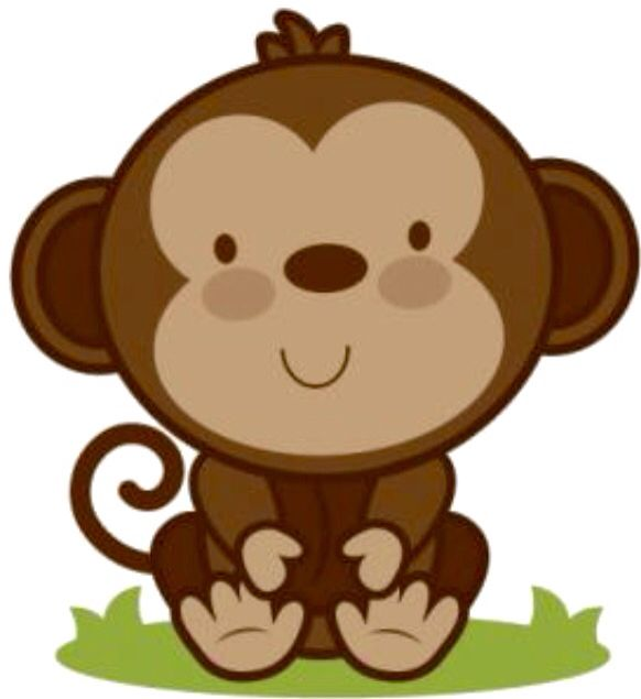582x635 Cute Face! Monkeys!!! Face, Clip Art And Cricut