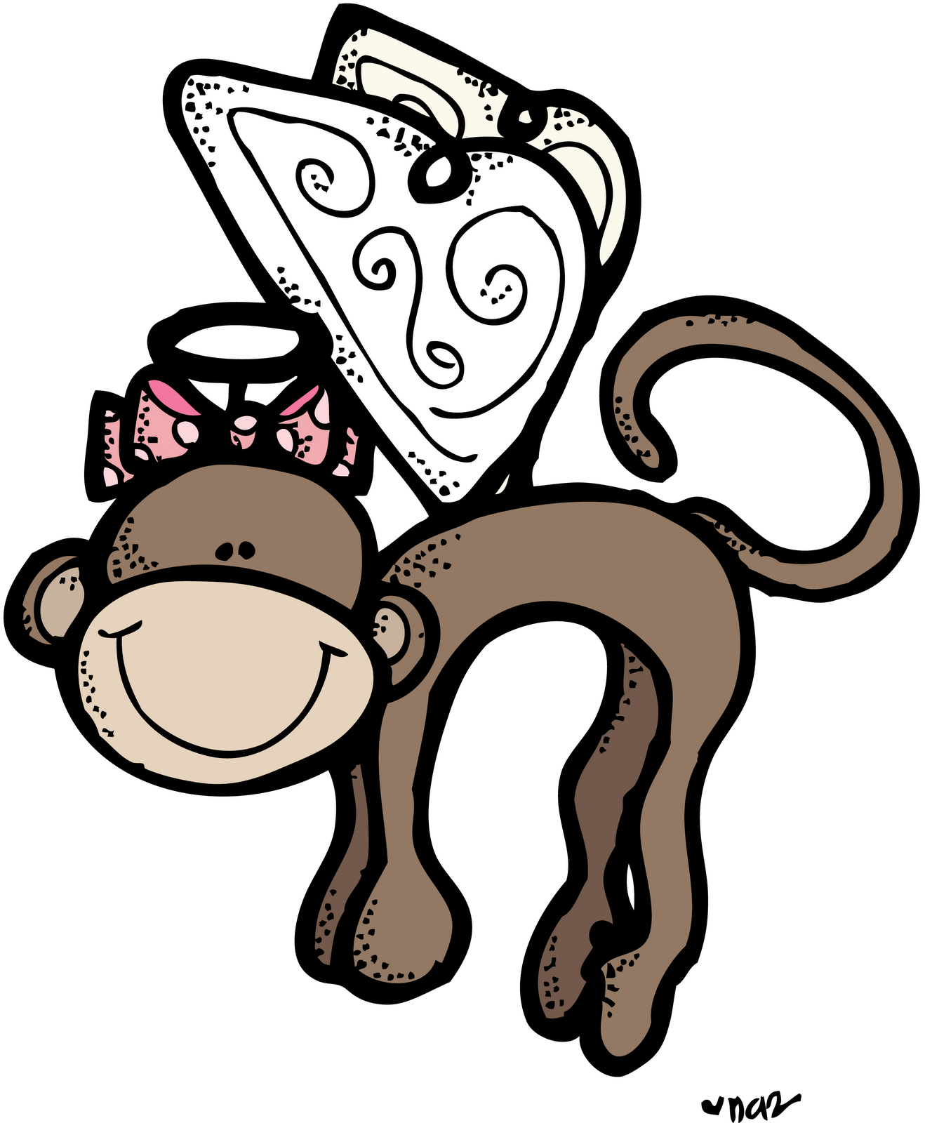 1318x1600 Flying monkey clipart