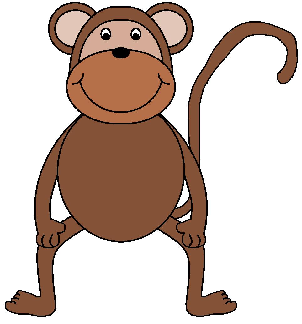 963x1036 Monkey clip art images 2
