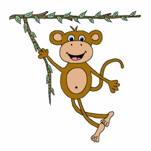 512x512 Swinging Monkey Clip Art 4 Nice Clip Art