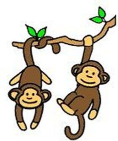 236x281 Year Of The Monkey Clipart Cartoon Simple