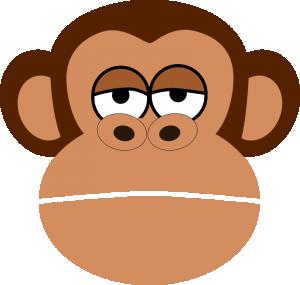 300x285 Baboon Clip Art Download