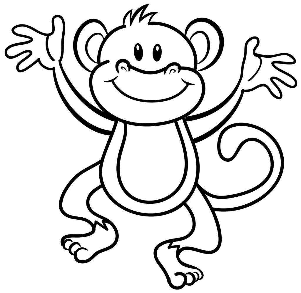 1024x995 Luxury Monkey Coloring Pages 18 On Seasonal Colouring Pages