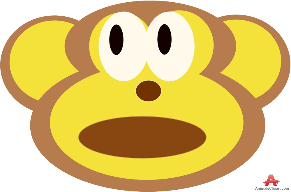 999x660 Face Of Monkey Clipart Free Clipart Design Download