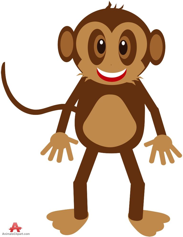 769x999 Happy Monkey Cliparts 219593