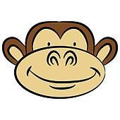 170x170 Monkey Face Clip Art