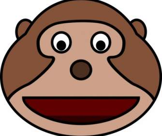 335x280 Monkey Face Vector Clip Art Free Vector Free Download