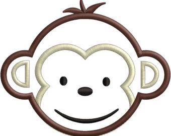 340x270 Monkey Face Clipart 2