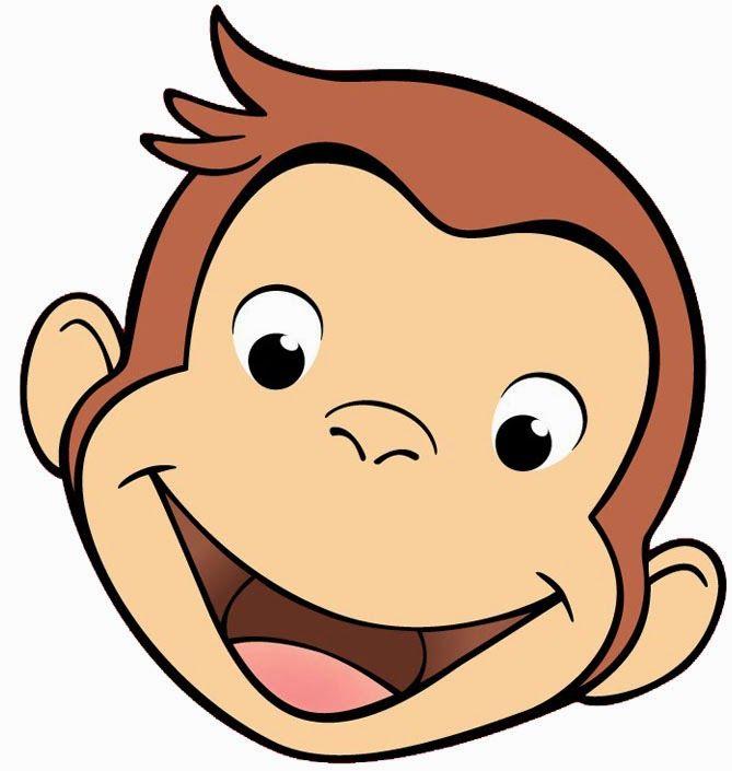 669x705 Symmetry Clipart Monkey Face
