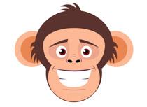 210x153 Ape Clipart Ape Face Clipart