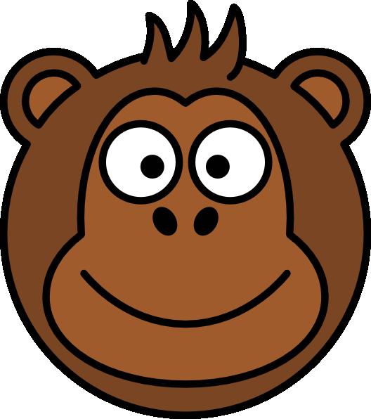 528x596 Cartoon Monkey Clip Art
