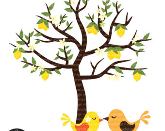 340x270 Monkeys on a Mango Tree Digital Clip Art