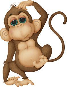 236x306 Cute Cartoon Monkeys Monkeys Cartoon Clip Art Cartoon Images