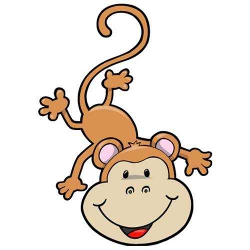 500x500 Pin The Tail The Monkey Game Instant Download Green Dots