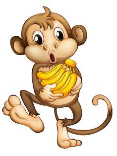 236x314 Cute Cartoon Monkeys Monkeys Cartoon Clip Art Cartoon Images