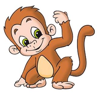 320x320 Monkeys Clip Art