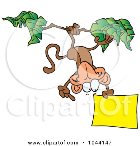 450x470 Royalty Free (Rf) Clip Art Illustration Of A Cartoon Hanging