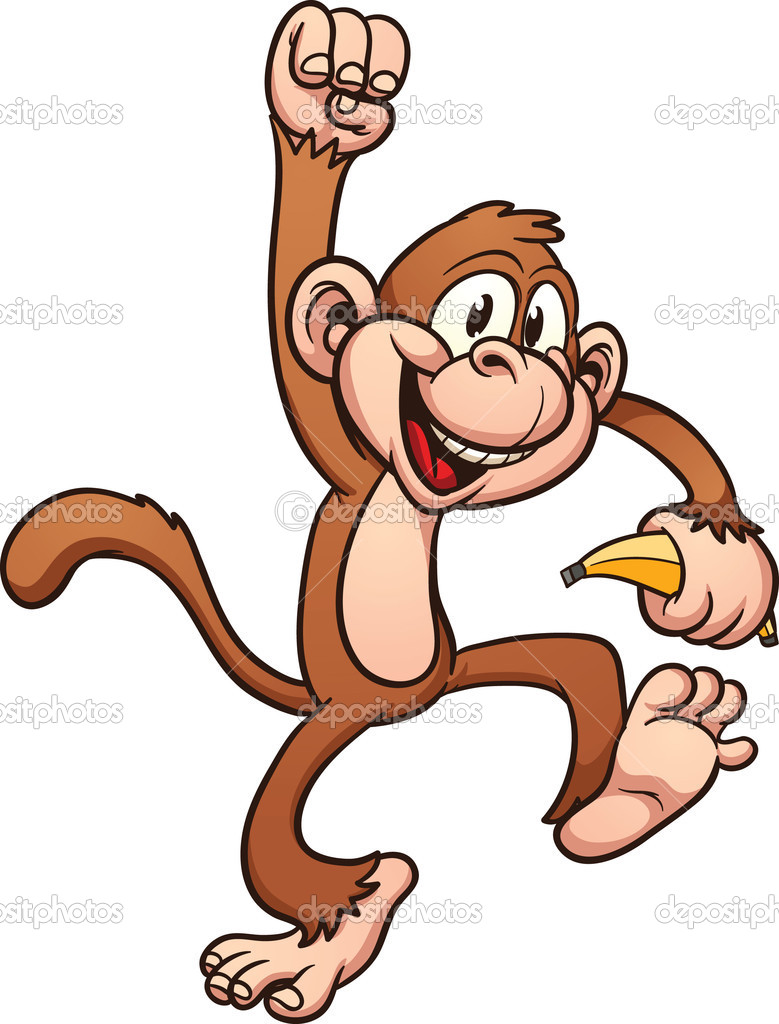 779x1024 Year Of The Monkey Clipart Cartoon Simple