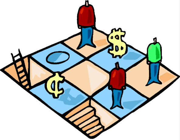 592x461 Monopoly Board Game Clipart