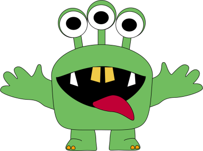 410x306 Free Monster Clipart 2