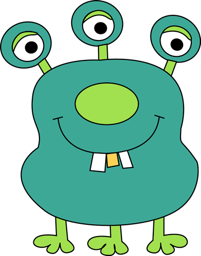392x500 Monster Clip Art Cartoon Free Clipart Images