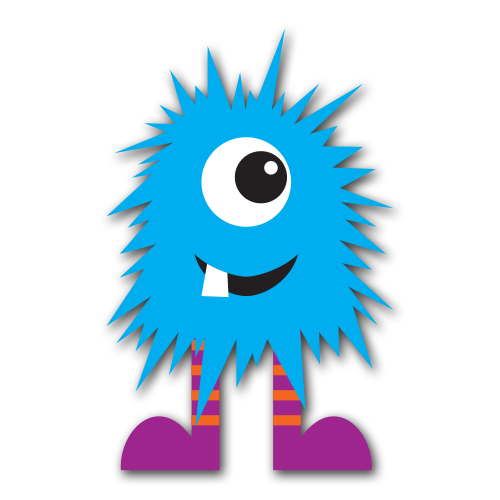 500x500 Blue Monster Clip Art (Free Download!) Monster Mash