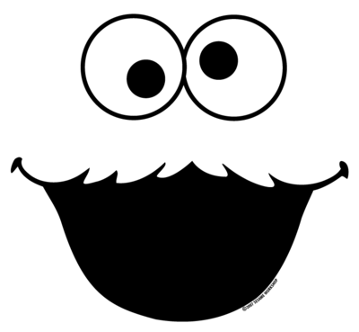 400x369 Cookie Monster Clip Art 4