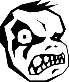 224x266 Free Monster Clipart