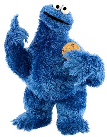 348x443 Best Cookie Monster Clip Art