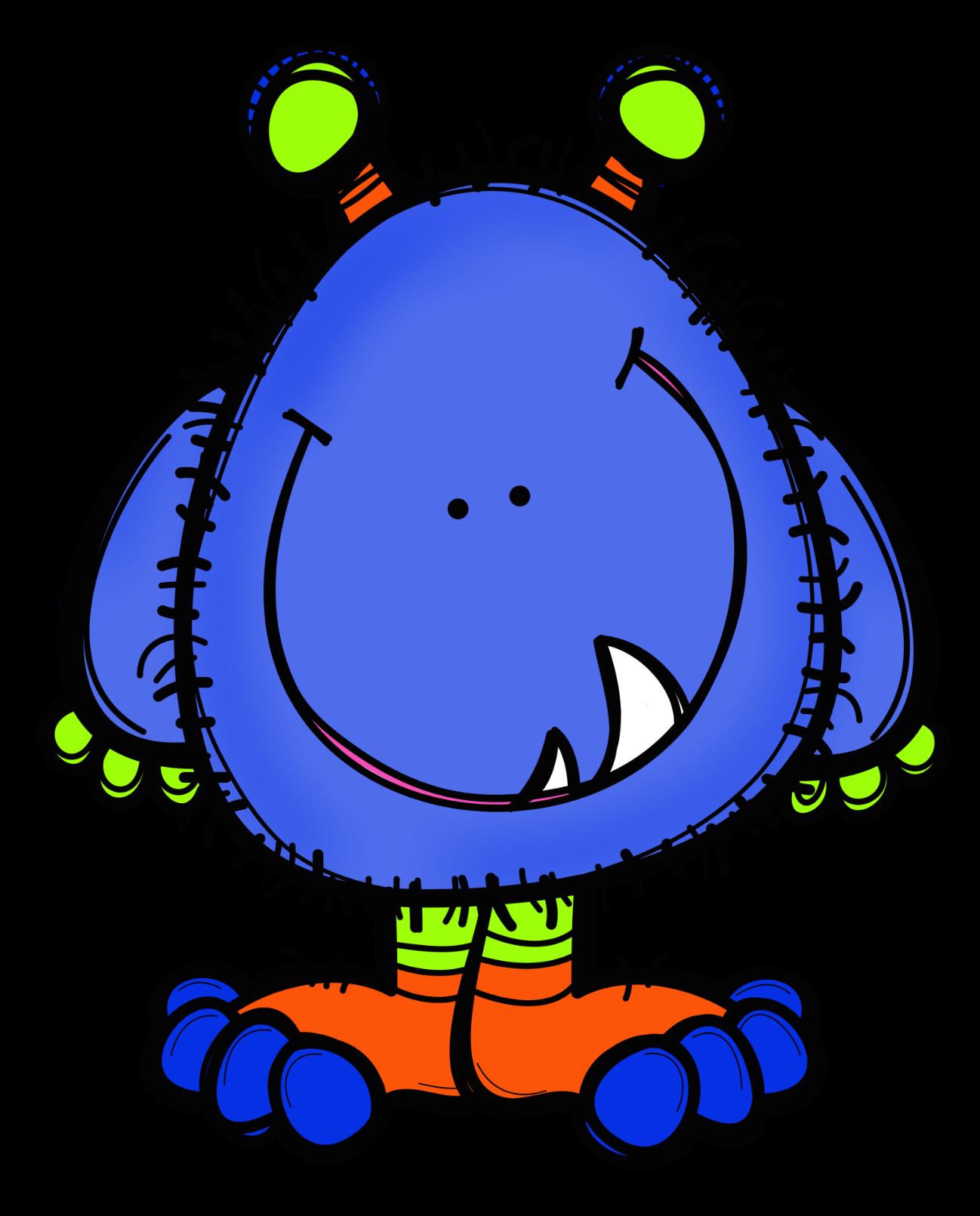 1298x1611 Little Monster Royal Blue Mathem Monsters, Clip