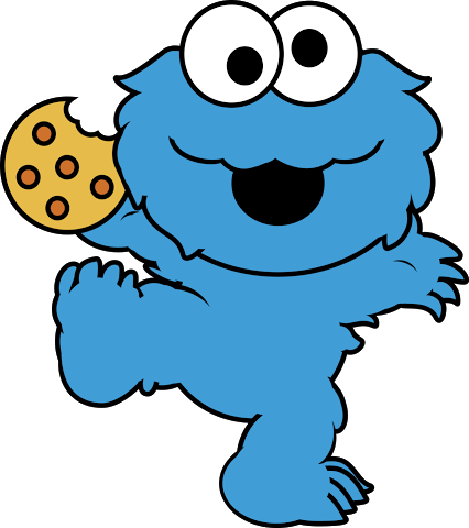 426x480 Best Cookie Monster Clipart