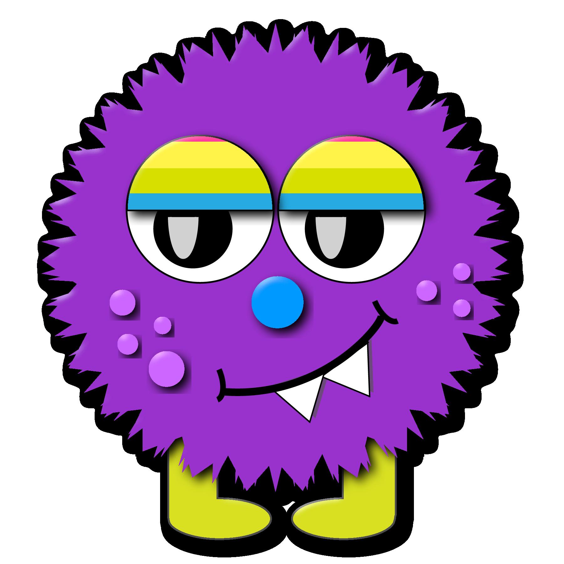 1800x1800 Monster Clip Art Cartoon Free Clipart Images 6