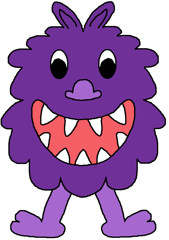 547x777 Purple Cartoon Monster Clipart Free Clip Art Images Kid