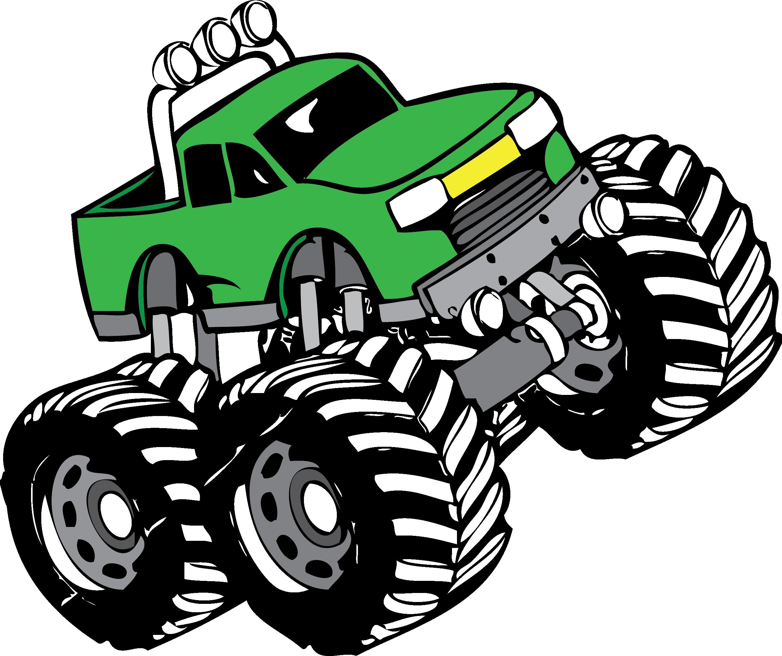 2519x2113 Top 75 Monster Truck Clip Art