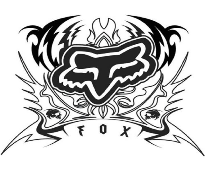 720x600 Fox Crossing Tattoo Foxes