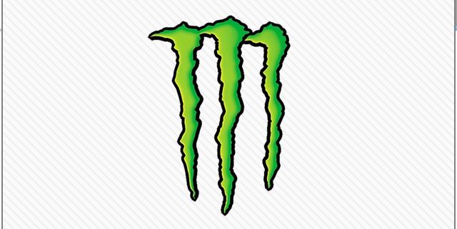 640x321 Monster Energy Clipart Logo Green